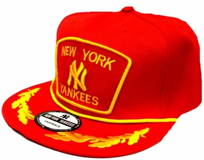 ... uk friendskart embroidered new york yankees hip hop style in red colour  for boys and girls e50412d05560