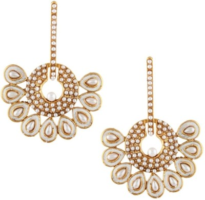 Jewels Nation Sea Pearl Pearl Alloy Drop Earring at flipkart