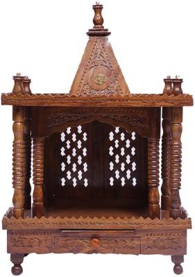 Aarsun Woods MNDR_7281 Wooden Home Temple(Height: 91.44 cm) at flipkart