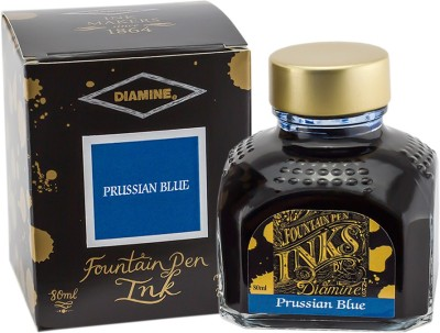 Diamine 80ml Prussian Blue Ink Bottle