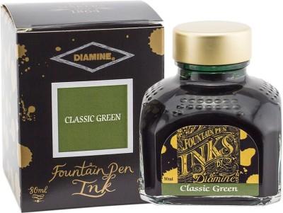 Diamine 80ml Classic Green Ink Bottle