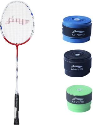 Li-Ning XP Smash 809 1PC + 3 Pc GP20 Grip Combo Multicolor Strung Badminton Racquet(G4 -3.25 Inches, 85 g) Flipkart