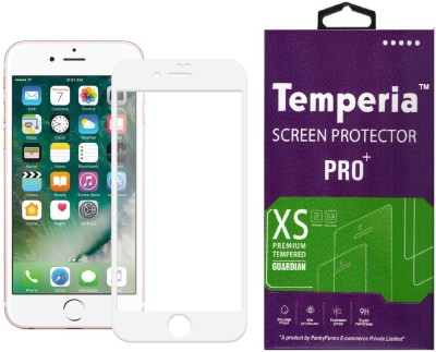 Temperia Tempered Glass Guard for Apple Iphone 6s Plus (5.5 inch, White) (Full Glass)