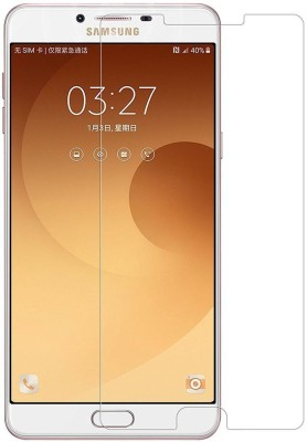 Karimobz Tempered Glass Guard for Samsung Galaxy C9 Pro(Pack of 1)