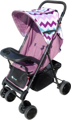 Toy House Premium Stroller, Purple Stroller(3, Multicolor)