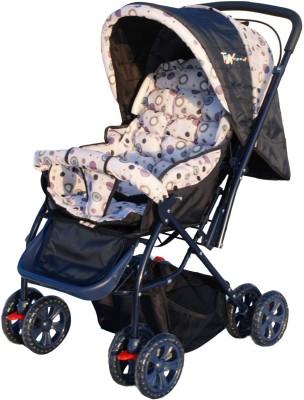 Toy House Baby Stroller Pram, Purple(3, Multicolor)