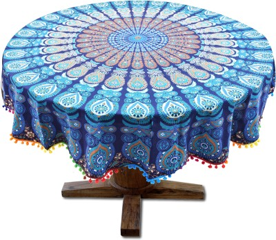 Rangrez Art Printed 4 Seater Table Cover(Multicolor, Cotton) at flipkart