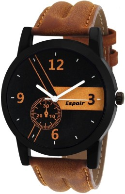 Espoir ESP8567 Stylish Pattern Corporate Imperial Watch  - For Men & Women
