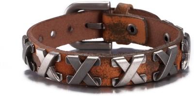 Moxie Leather Bracelet at flipkart