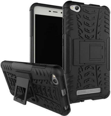 MAJANSY Back Cover for Xiaomi Redmi 4A(Black, Rubber)