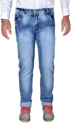Ragzo Skinny Men Light Blue Jeans