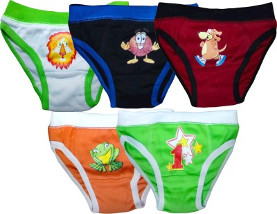 Instyle Brief For Boys(Multicolor Pack of 5)