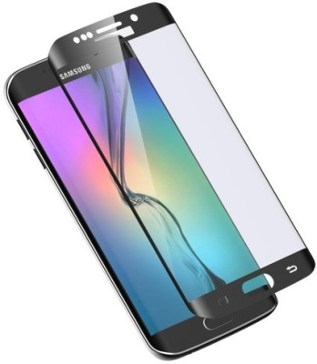 Mudshi Tempered Glass Guard for Samsung Galaxy S6 Edge Black Color at flipkart