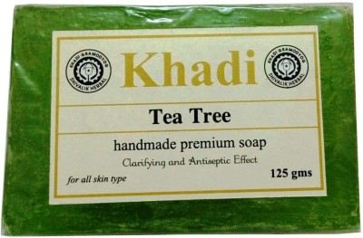 Khadi Herbal Tea Tree Soap(125 g)