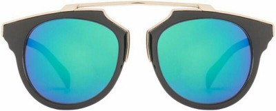 Friendskart Mercury Lens Colour (Sea Green) For Boys And Girls Wrap-around, Wayfarer Sunglasses(Multicolor) at flipkart