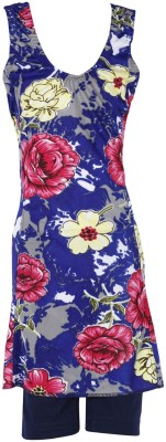 Urban Studio Floral Print Girls Swimsuit