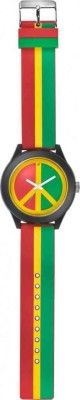 Fastrack Tees Multicolor Unisex Watch, NG38003PP02