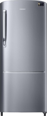 Haier 220 L Direct Cool Single Door 4 Star Refrigerator(Brushline silver, HRD-2204BS-R/E)