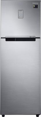 Samsung 275 L Frost Free Double Door 5 Star Refrigerator Elegant Inox, RT30M3425S8/HL