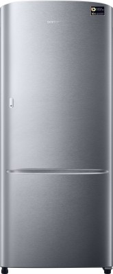 Samsung 192 L Direct Cool Single Door Refrigerator(RR20M111ZSE/HL, Elective Silver, 2017)