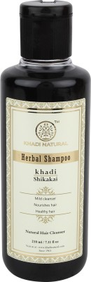 Khadi Natural Shikakai Herbal Shampoo (210ml)