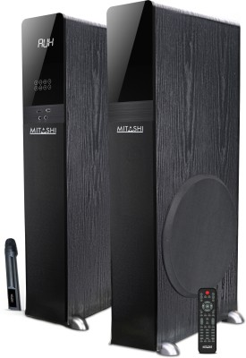 Mitashi TWR 850 BT 2.0 Ch. Tower Bluetooth Home Audio Speaker(Black, 2.0 Channel)