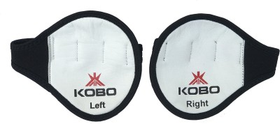 Kobo Weight Lifting Grip Pad Gym   Fitness Gloves White Kobo Gym Gloves
