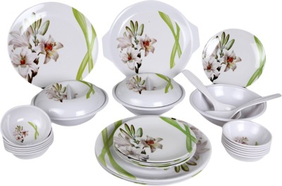 Eagleware TajMahal Pack of 32 Dinner Set(Melamine) at flipkart
