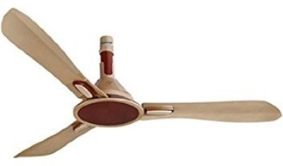 Orient Areta 1200 mm 3 Blade Ceiling Fan(Golden Beige and Coffee, Pack of 1) at flipkart