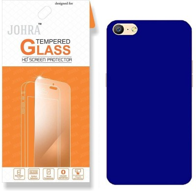 Johra Screen Protector Accessory Combo for Oppo F3 Plus(Transparent, Blue)