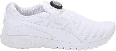 Puma IGNITE Dual DISC Dip Running Shoes(White) at flipkart