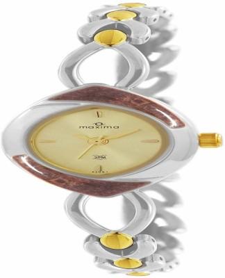 Maxima 44131BMLT GOLD Analog Watch For Unisex
