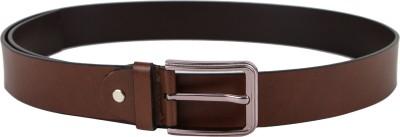 Da Milano Men Casual Tan Genuine Leather Belt