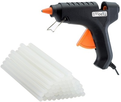 iwill Black 40 Watt With 25 Hot Melt Glue Sticks Standard Temperature Corded Glue Gun(11 mm)