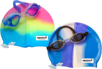 DeNovo ACE Multicolor Swimming Kit DeNovo Swimming Kits