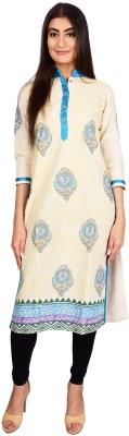 Stylefident Casual Printed Women's Kurti(Multicolor)