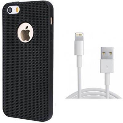 Mocell Case Accessory Combo for Apple iPhone 5 Black, White