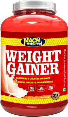 Mach Nutrition Weight Gainer Weight Gainers(1 kg, Chocolate)