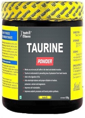 HealthVit Fitness Taurine Powder 100Gms Nutrition Drink(100 g, Unflavoured)