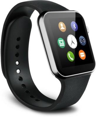 SYL Yezz Andy 5.5EI Silver Smartwatch(Black Strap Free Size) at flipkart