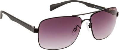 Farenheit Retro Square Sunglasses(Grey) at flipkart