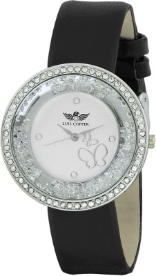 Luis Copper LC2504SL02 New Style Analog Watch For Women