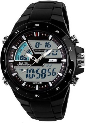 Skmei Analog - Digital Black Dial Men