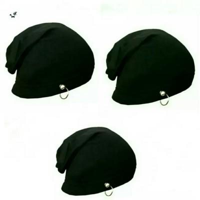 52b69c7140b 68% OFF on Friendskart Solid Beanie Black Ring Cap Combo Cap(Pack of 3) on  Flipkart