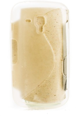 The Little Shop Back Cover for Samsung Galaxy S Duos 2 S7562(Transparent, Shock Proof, Rubber) Flipkart