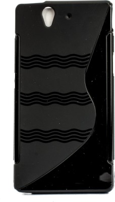The Little Shop Back Cover for sony xperia z l36h(Black, Shock Proof, Rubber) Flipkart