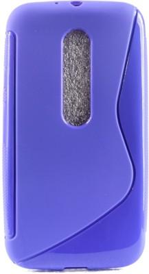 The Little Shop Back Cover for Motorola Moto G3 3rd Gen(Purple, Shock Proof, Rubber) Flipkart