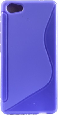 Mystry Box Back Cover for Micromax Canvas Fire 4G+ Q412(Purple, Silicon)