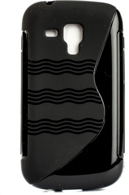 The Little Shop Back Cover for SAMSUNG GALAXY S DUOS 2 S7562(Black, Shock Proof, Rubber) Flipkart