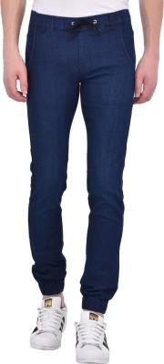 Ansh Fashion Wear Jogger Fit Men Blue, Dark Blue Jeans(Pack of 2)